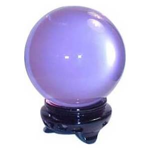 95mm Lavender Crystal Ball