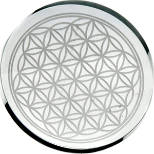 "3"" Flower of Life coaster (set of 2)"