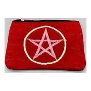 "4"" x 6"" Pentagram coin purse"