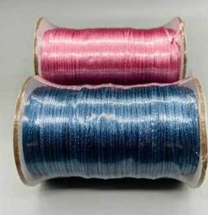 Mixed Colors Rattail 2mm 144 yds