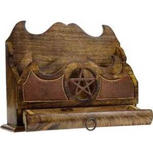 Pentagram Letter Holder 11""