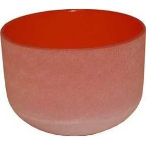"""8"""" Orange Crystal Singing Bowl"""