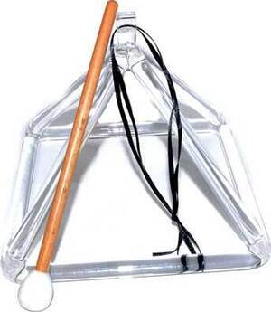 "7"" glass Singing pyramid"
