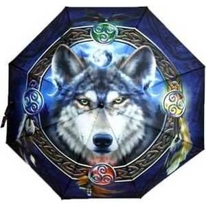 Celtic Wolf umbrella