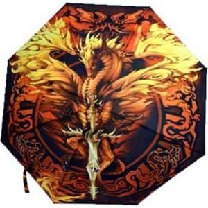 Flame Blade Dragon umbrella