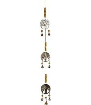 """29"""" 3 Tree of Life brass chime"""
