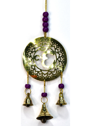 """11"""" Crown brass chime"""