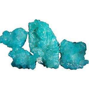 5# Quartz Clusters with Turquoise Color