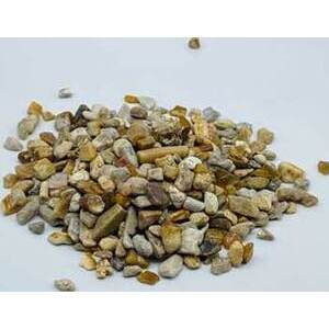 1 lb Fossil Coral tumbled chips 5-8mm