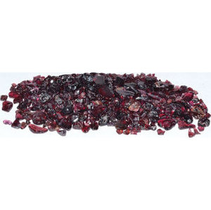 1 lb Garnet tumbled chips 5 mm