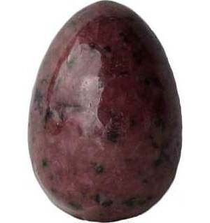 "2"" Rhodonite egg"
