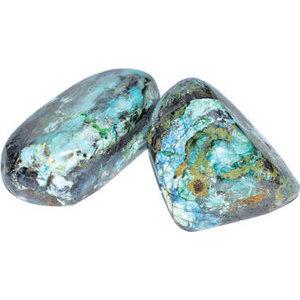 .5-.7# Azurite & Malachite free shape