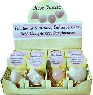 Rose Quartz gift box (set of 12)