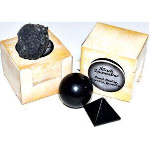 Tourmaline, Black gift box (set of 12)