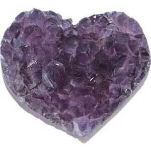"""2"""" Amethyst Druse heart (B quality)"""