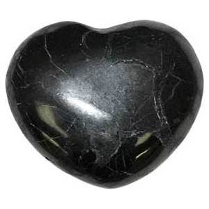 30mm Shungite Heart