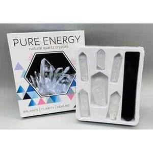 Pure Energy Natural Quarty Crystals