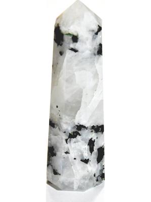 "1 3/4""- 2/1/2"" Rainbow Moonstone obelisk"