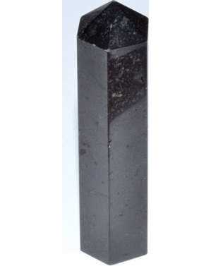 "4""+ Tourmaline, Black obelisk"