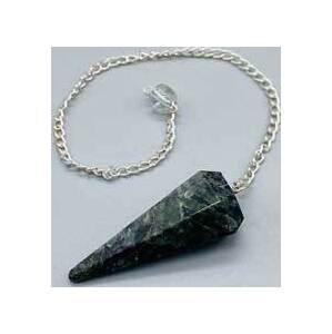 6-sided Cuprite Crystal pendulum