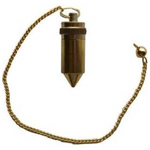 brass pendulum w Compartment