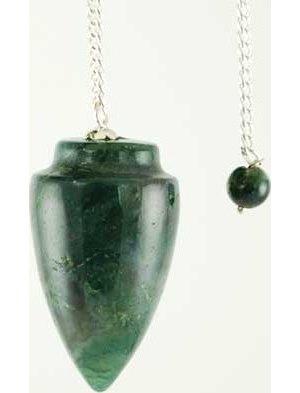 Plain Malachite Pendulum