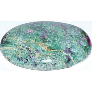 Ruby Zoisite palm stone