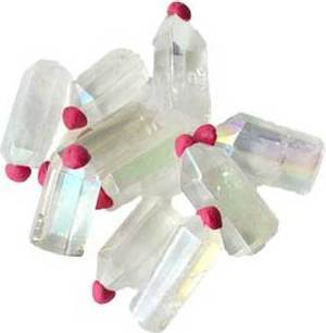 1 lb Angel White Crystal points