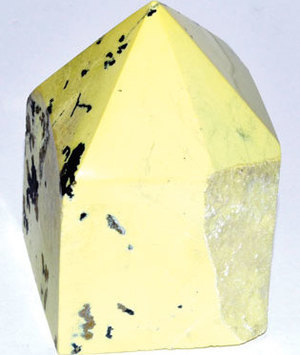 Serpentine top polished point