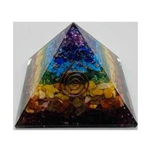 63mm Orgone Chakra pyramid
