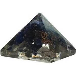 25-30mm Orgonite Lapis Pyramid