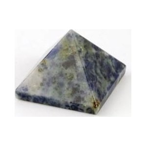 25-30mm Sodalite Pyramid