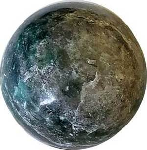 1# of Emerald Fuchsite spheres