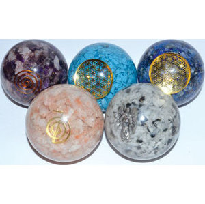 50mm Orgone Various sphere