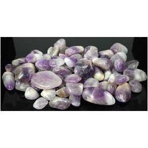 1 Lb Amethyst Tumbled Stones