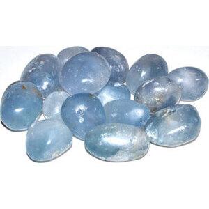 1 lb Celestite tumbled stones