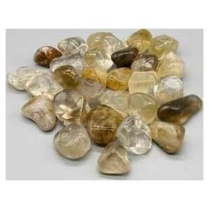 1 lb tumbled Citrine, Natural stones