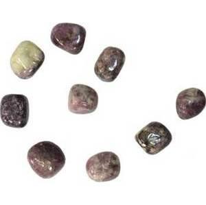 1 Lb Lepidolite Tumbled Stones