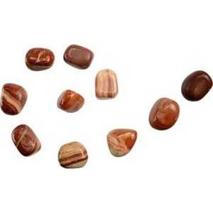 1 Lb Red Malachite Tumbled Stones