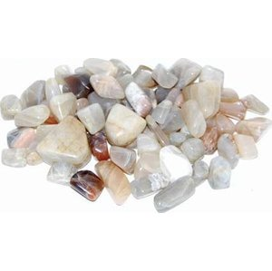 1 Lb Moonstone Tumbled Stones