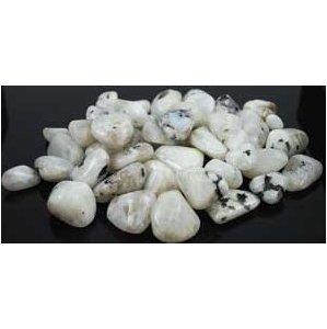 1 Lb Rainbow Moonstone Tumbled Stones
