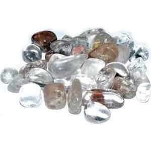 1 lb Phantom Quartz tumbled stones 15-20mm