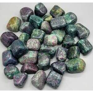 1 lb Ruby Zoisite with Mica tumbled stones