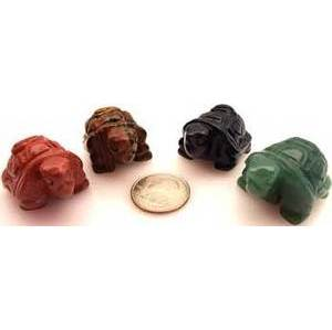 "1 1/2"" Turtle Various Stones Stones"