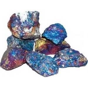 1 lb Chacopyrite untumbled stones