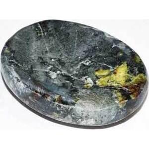Opal, Blue worry stone