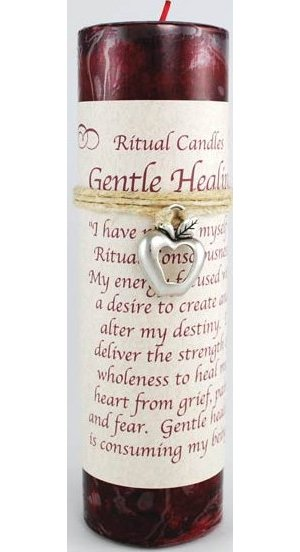Gentle Healing Pillar Candle