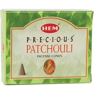 Patchouli Hem Cone Incense 10pk