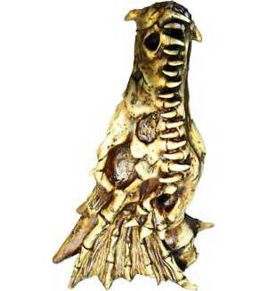 "11"" Bone Dragon incense tower"