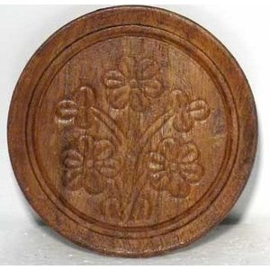 "Wooden Coaster 3"" Dia"